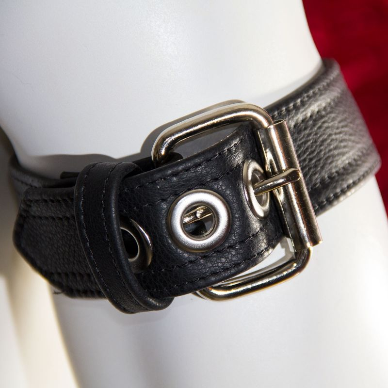 Black Leather Arm Band